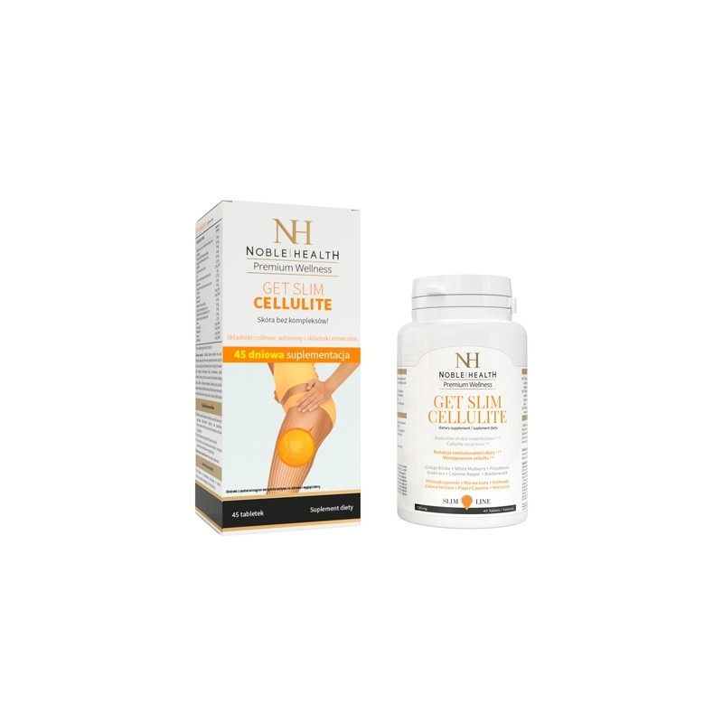 Noble Health Get Slim Cellulite 45 Tabletek