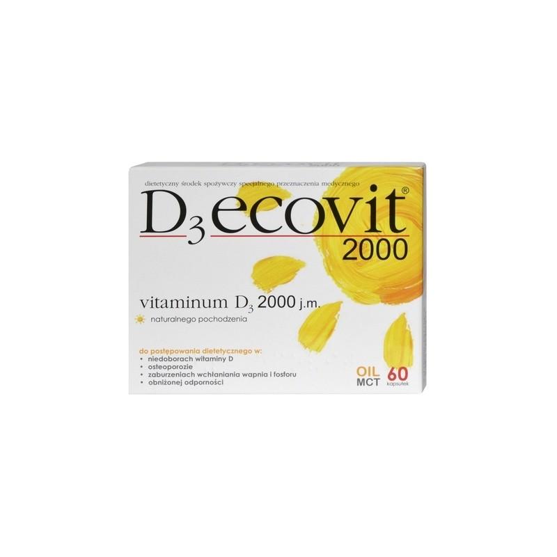 D3-Ecovit 2000 60 Kapsułek