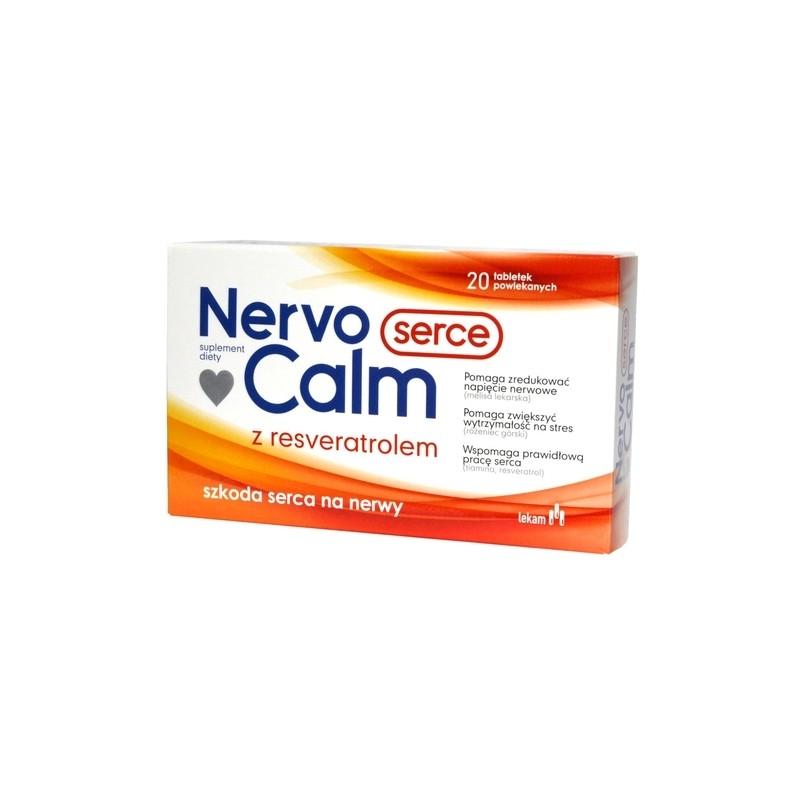 NervoCalm Serce 20 Tabletek