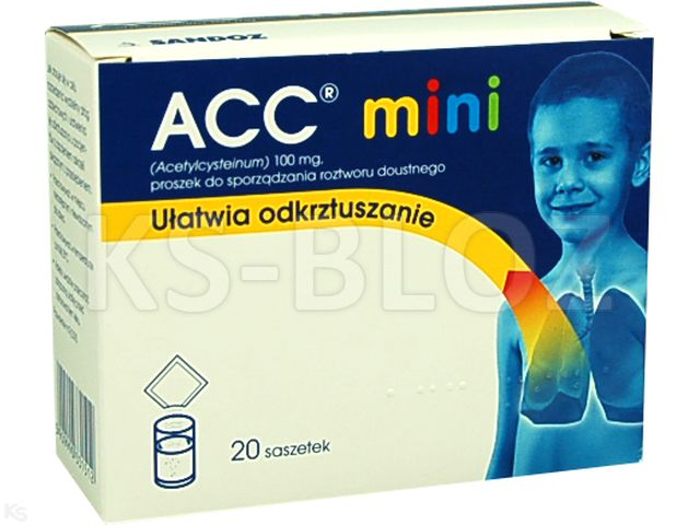 ACC mini 100mg 20 torebek