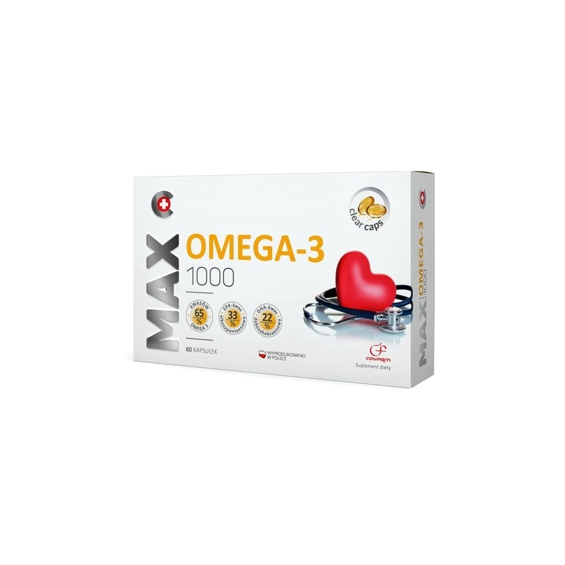 Max Omega 3 1000 mg 60 Kapsułek