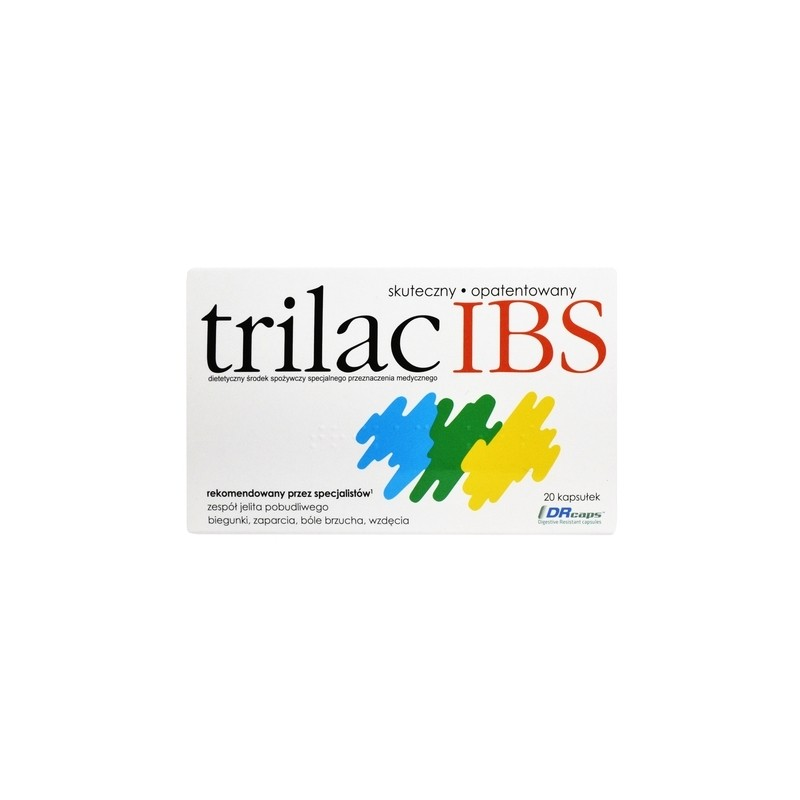 Trilac IBS 20 kapsułek