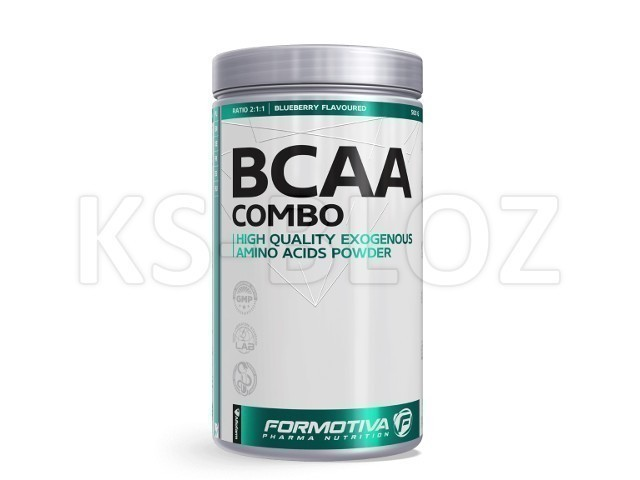FORMOTIVA BCAA COMBO blueberry flavoured