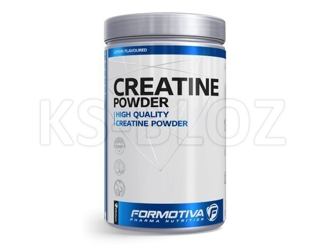 FORMOTIVA CREATINE Powder lemon flavoured