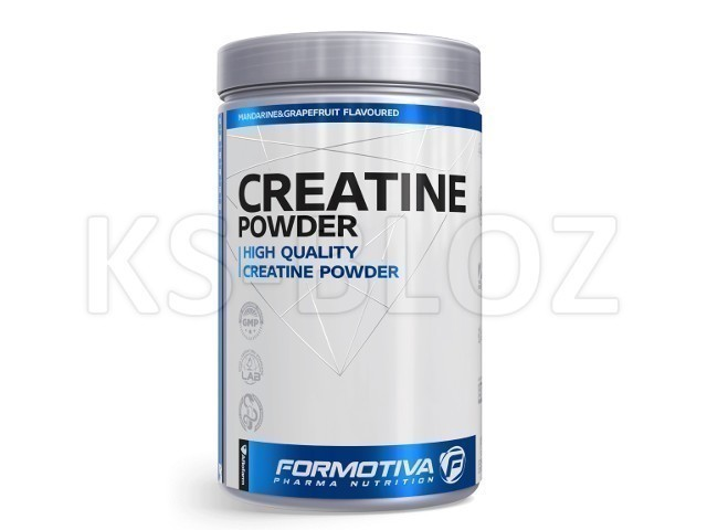 FORMOTIVA CREATINE Powder mandarine&grapefruit flavorued
