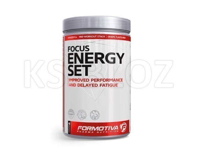 FORMOTIVA FOCUS ENERGY SET grape flavoured
