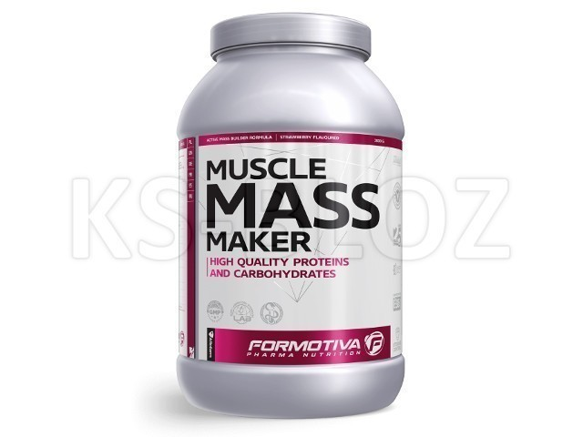 FORMOTIVA MUSCLE MASS MAKER strawberry flavoured