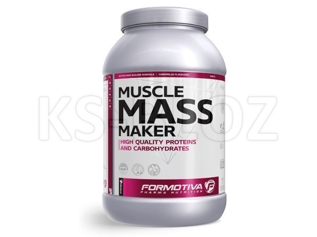 FORMOTIVA MUSCLE MASS MAKER carmello flavoured