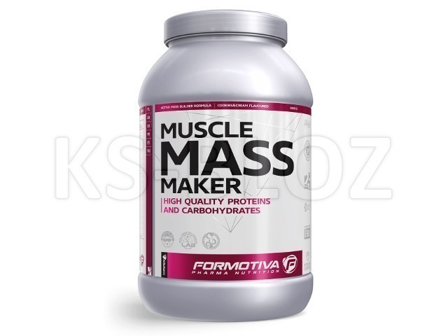 FORMOTIVA MUSCLE MASS MAKER cookies&cream flavoured