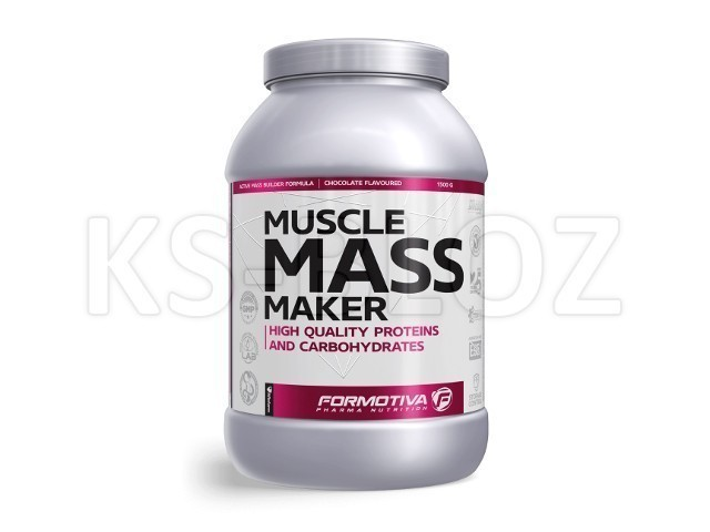 FORMOTIVA MUSCLE MASS MAKER chocolate flavoured