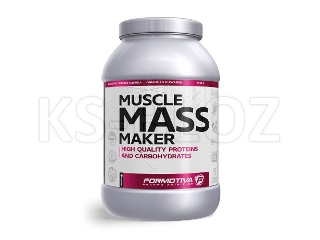 FORMOTIVA MUSCLE MASS MAKER caramello flavoured