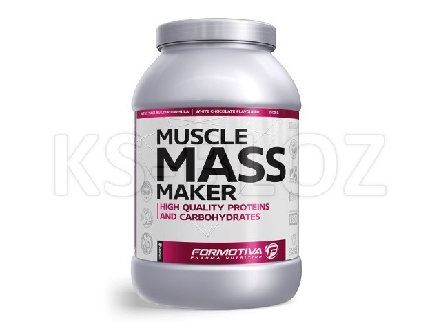 FORMOTIVA MUSCLE MASS MAKER white chocolate flavoured