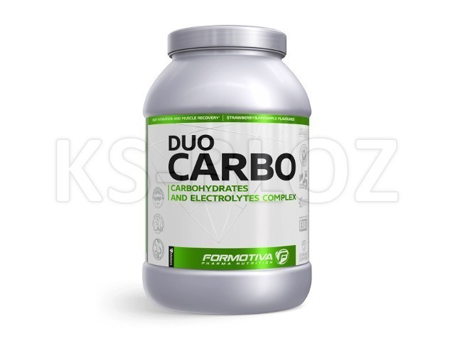 FORMOTIVA DUOCARBO strawberry&pineapple flavoured