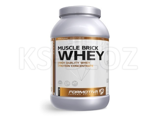 FORMOTIVA MUSCLE BRICK WHEY chocolate flavoured