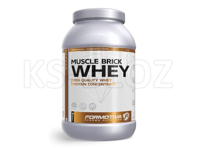 FORMOTIVA MUSCLE BRICK WHEY cookies&cream flavoured