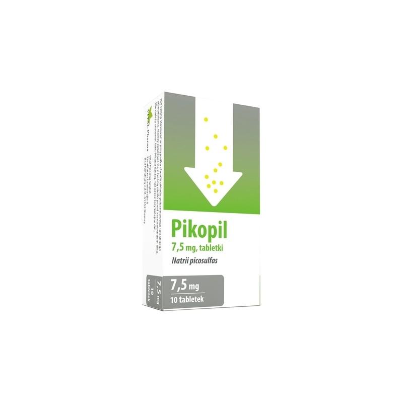 Pikopil 7,5 mg 10 Tabletek