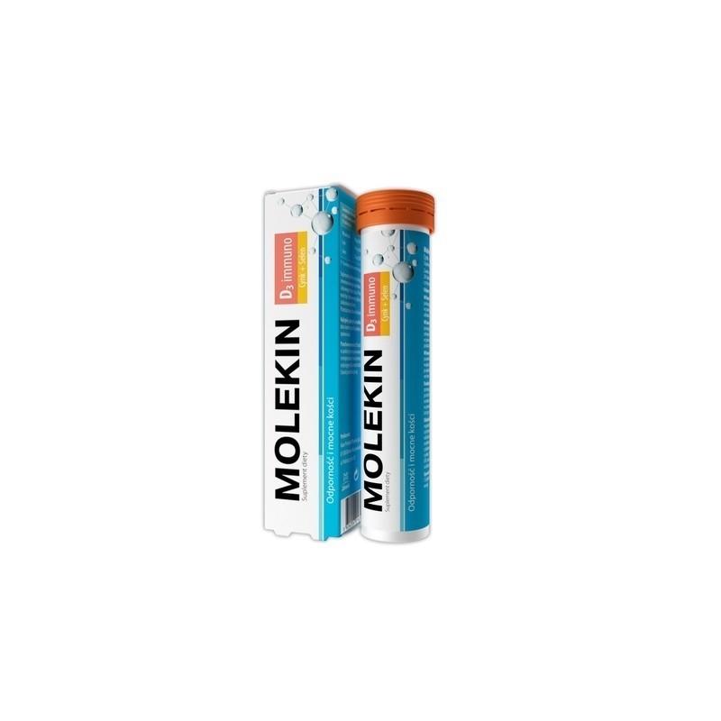 Molekin D3 Immuno 20 Tabletek Musujących
