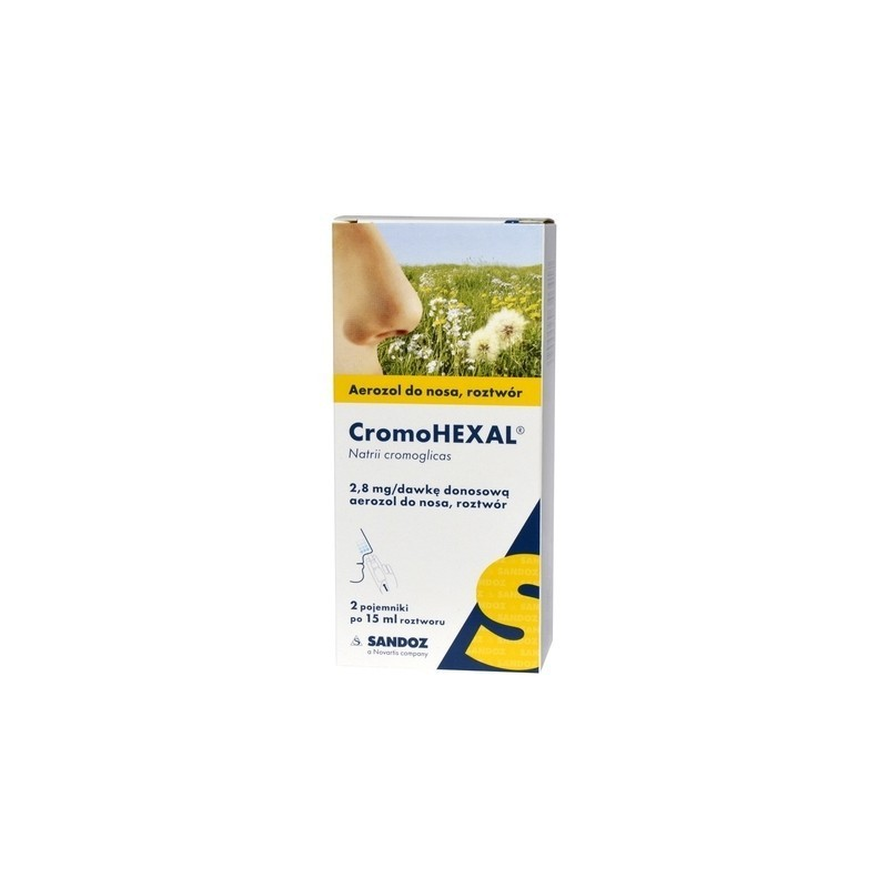 Cromohexal Aerozol do nosa 30 ml