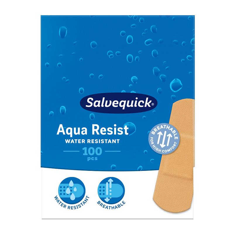 Plastry Salvequick Aqua Resist Large 100 szt.