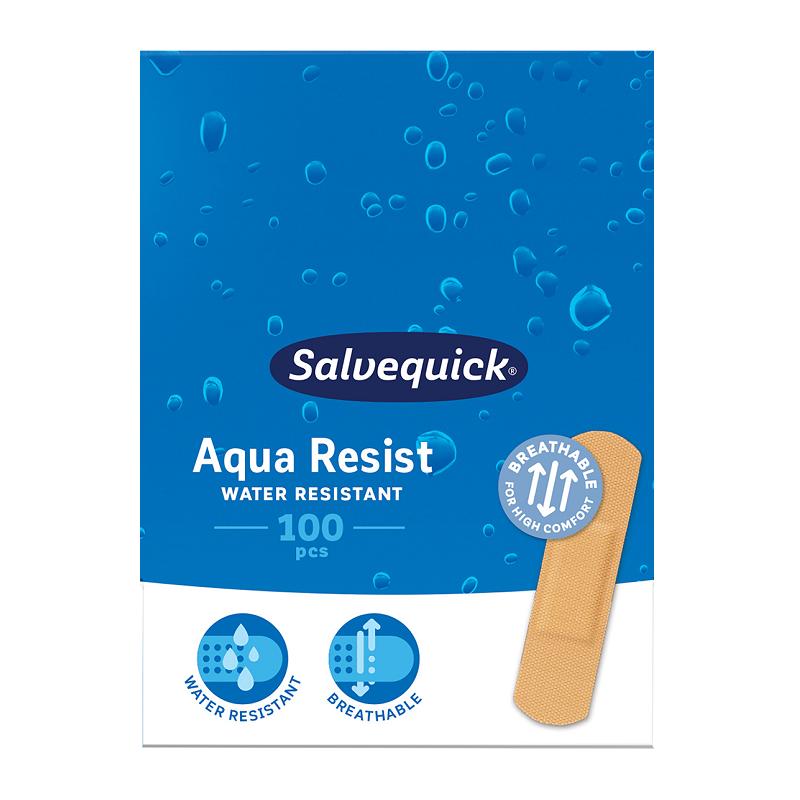 Plastry Salvequick Aqua Resist Small 100 szt.