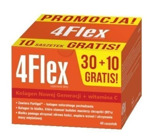4Flex 30+10 Saszetek Gratis