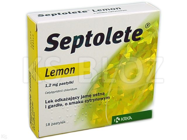 Septolete Lemon