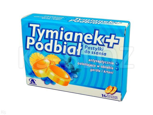 Tymianek plus Podbiał