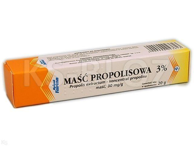 Maść propolisowa 3%