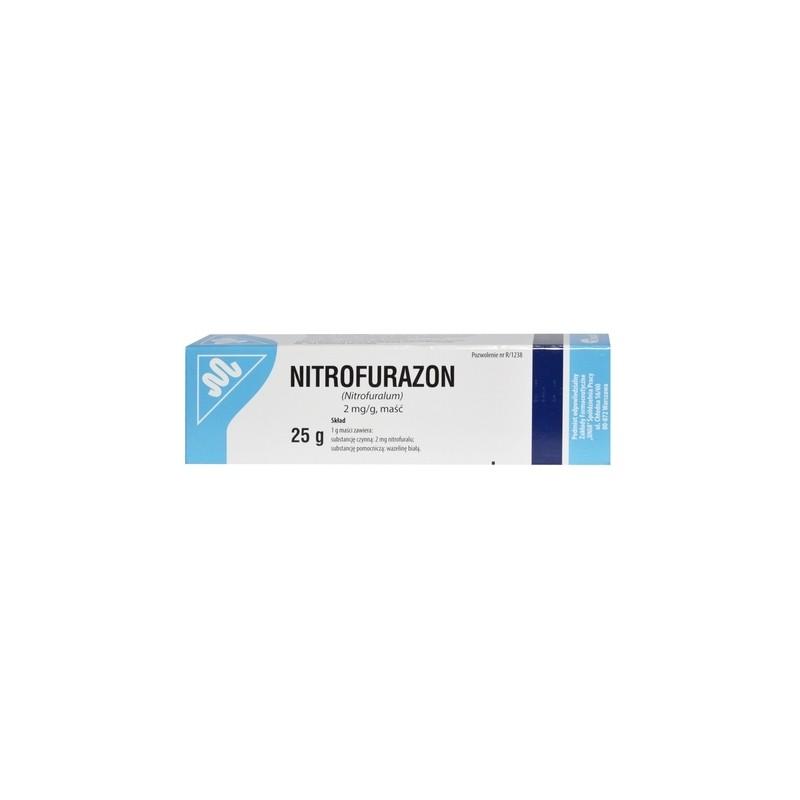 Nitrofurazon Maść 25 g