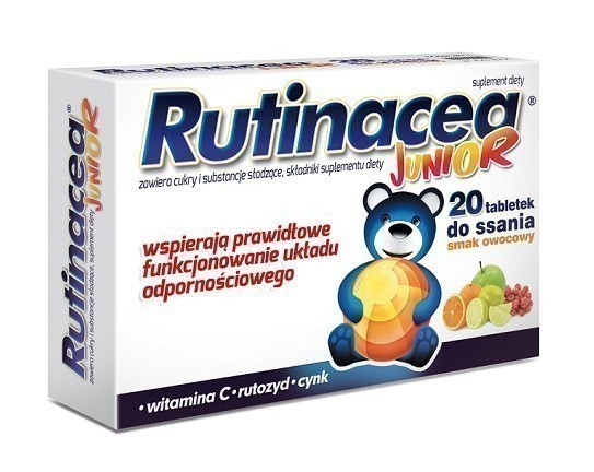 Rutinacea Junior 20 Tabletek