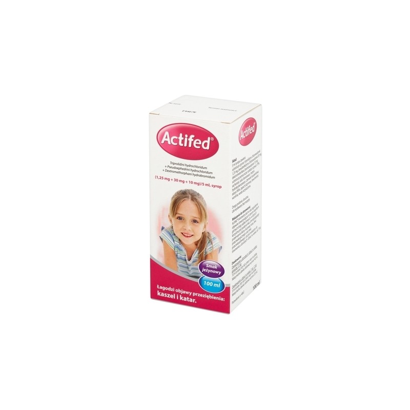 Actifed syrop 100 ml