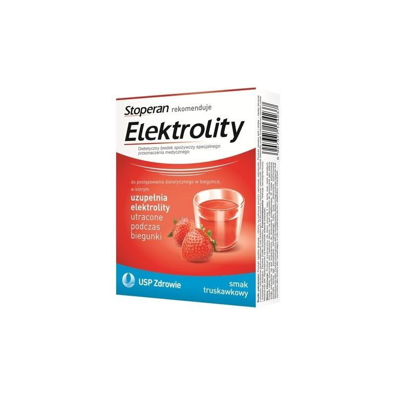 Elektrolity smak truskawkowy