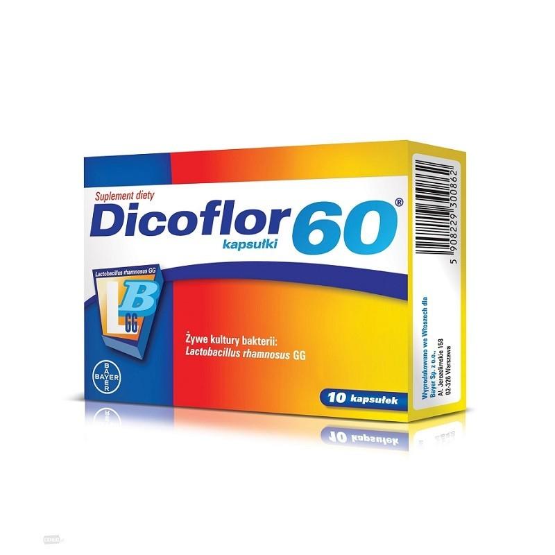 Dicoflor 60 x 10 Kapsułek