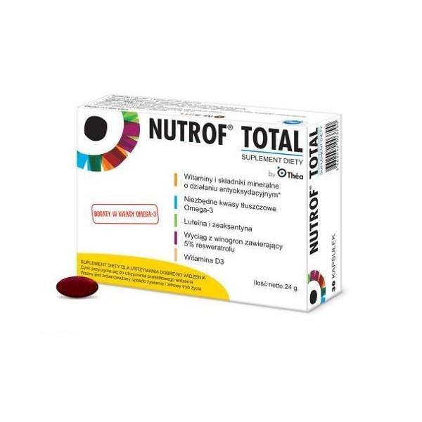 Nutrof Total z Witaminą D3 30 Kapsułek