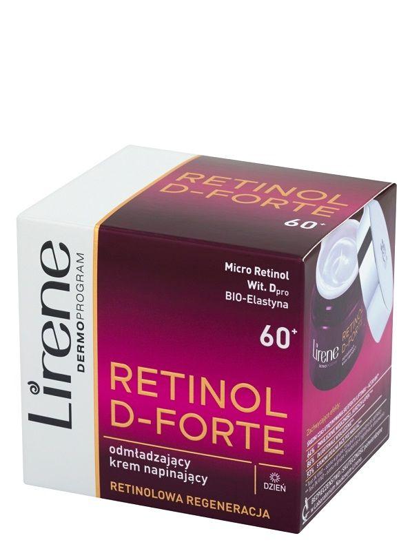Lirene Dermoprogram Retinol D-Forte 60+
