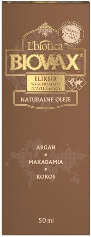 Biovax Elixir Argan Makadamia Kokos