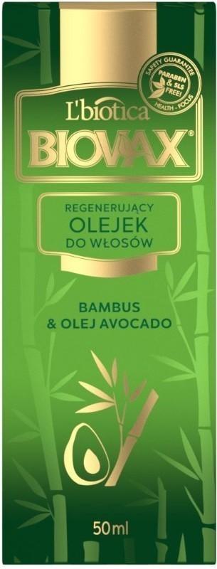 Biovax Elixir Bambus + Olej Avocado