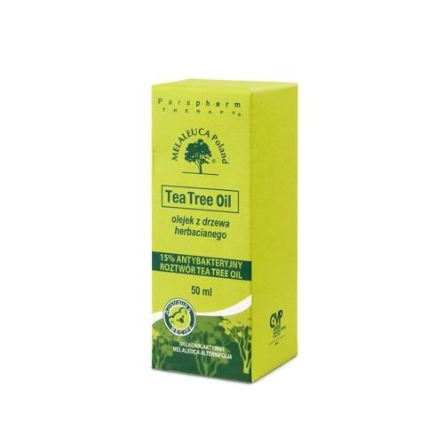Tea Tree 15% antybakteryjny roztwór z drzewa herbacianego 50 ml