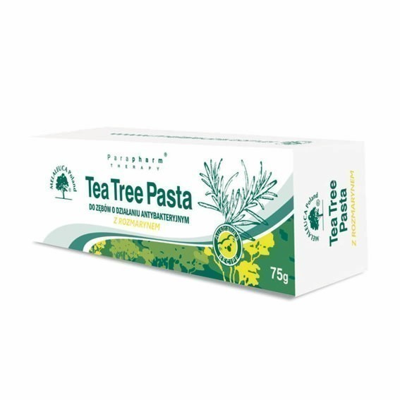 Tea Tree Pasta do zębów z rozmarynem 75 g