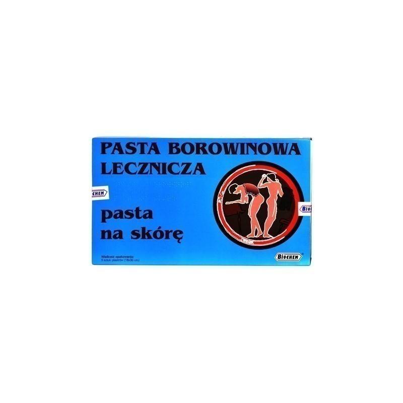 Pasta Borowinowa Lecznicza Plaster 5 szt.