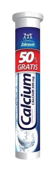 Zdrovit Calcium 300 mg 20 Tabletek Musujących