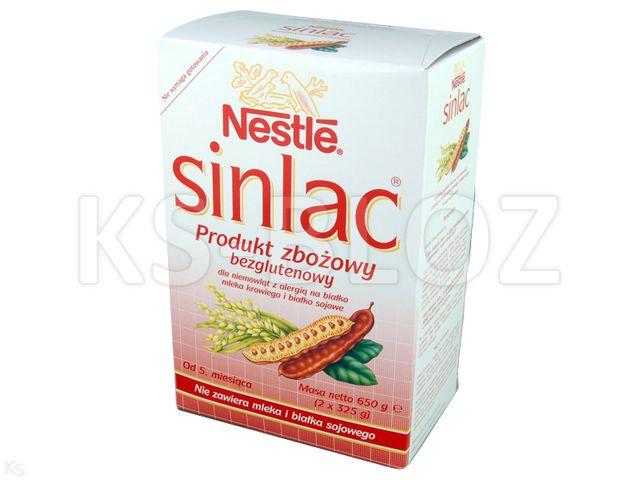 NESTLE SINLAC Odżyw.zboż. b/glut.od 5m-ca