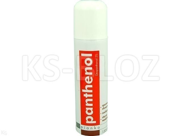 Panthenol 5% Pianka 150 ml