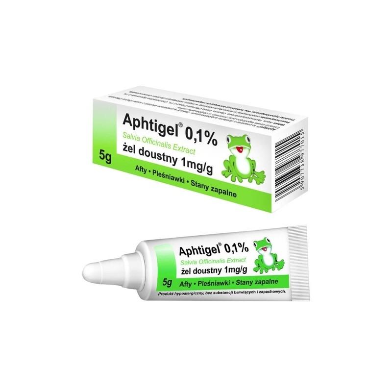 APHTIGEL 0,1% Żel d/piel.jamy ustnej