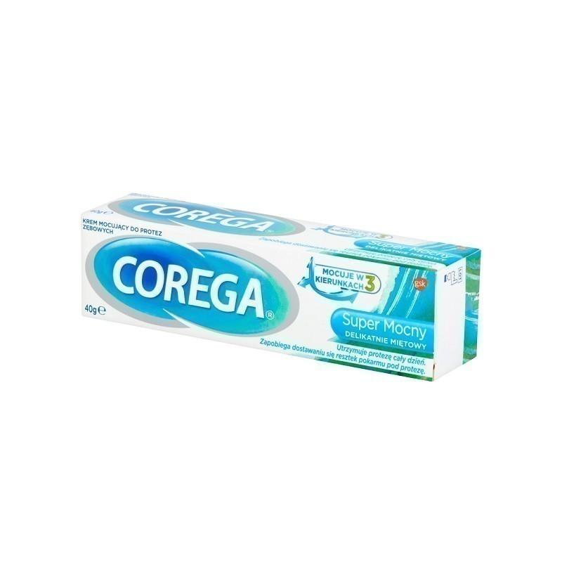Corega Super Mocny Delikatnie Miętowy 40 g