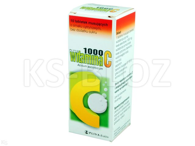 WITAMINA C 1000 TEVA sm.cytr.bez cukru