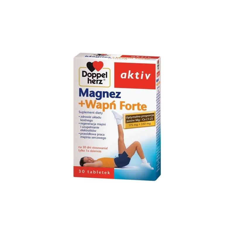 Doppelherz aktiv Magnez+Wapń Forte