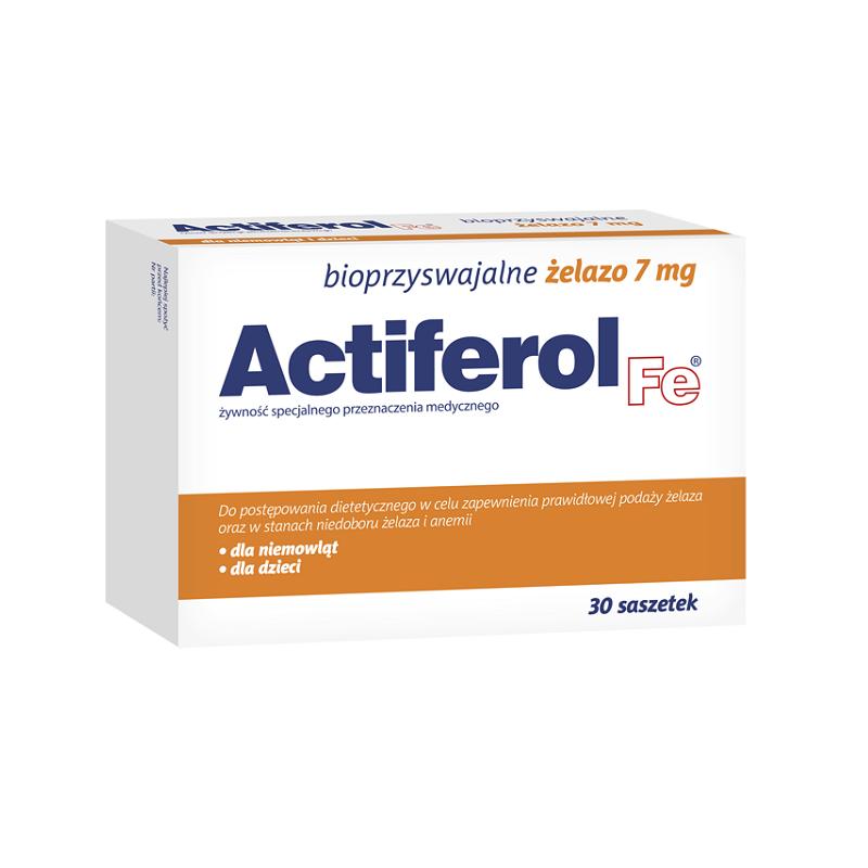 Actiferol Fe 7 mg - saszetki