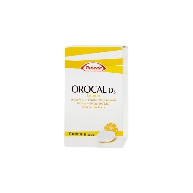 Orocal D3 lemon