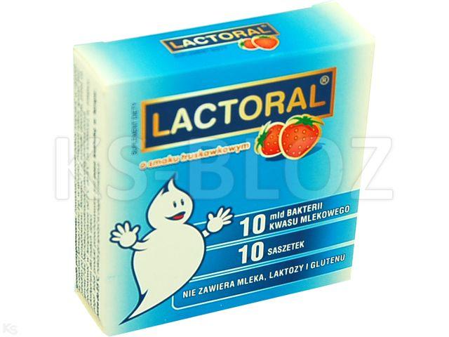 Lactoral smak truskawkowy